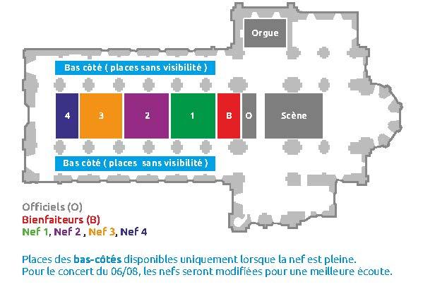 Plan de l'abbatiale de Lessay