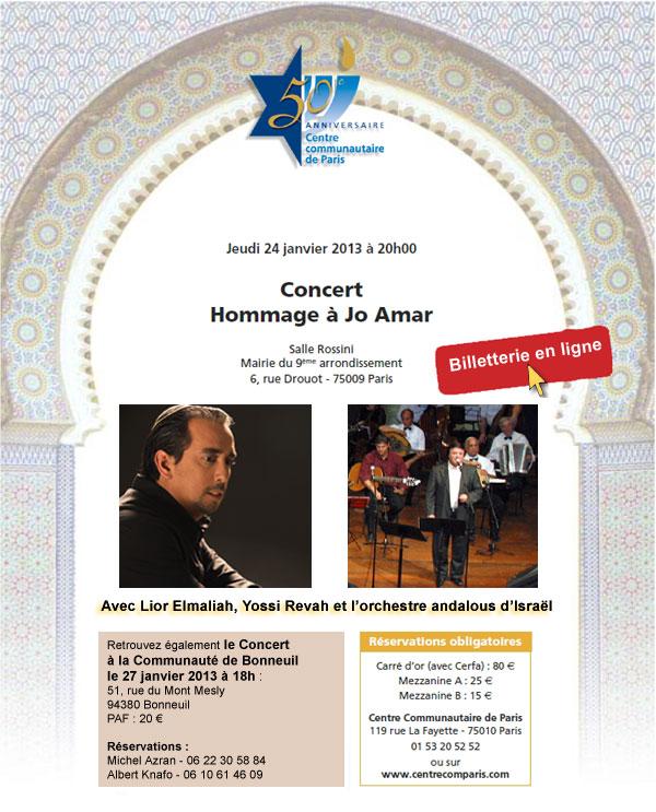 Concert Jo Amar